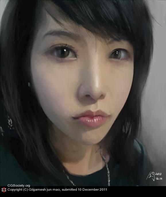 CGTalk - Jie/Portrait, Gilgamesh jun mao