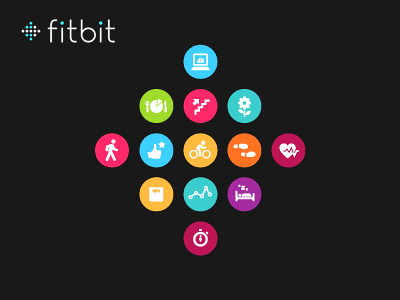 Fitbit Logo Icons by Mark Bult