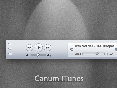 Canum iTunes by Jose E.N - Designmoo