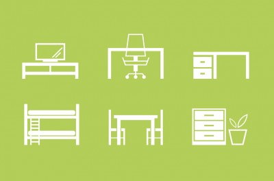 Furniture Icons by Donny - Designmoo