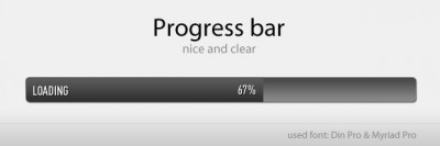 Progress bar by icherry - Designmoo