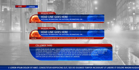 After Effects Project Files - Lower Third News 4 | VideoHive ...