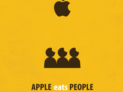 APPLE eats PEOPLE by JOHN JUNG.의형