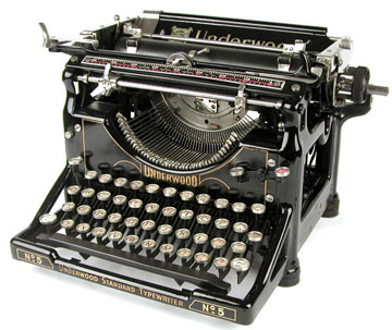 Underwood No. 5 (1900s-1920s) ($500-5000) - Svpply