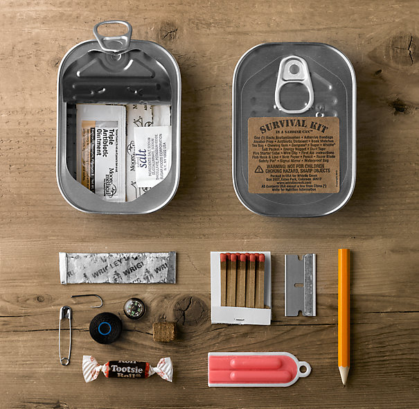 "Survival Kit in a Sardine Canâ""¢ ($1-20) - Svpply"