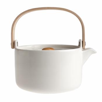 Marimekko White Oiva Teapot - Marimekko Oiva Dinnerware ($50-100) - Svpply