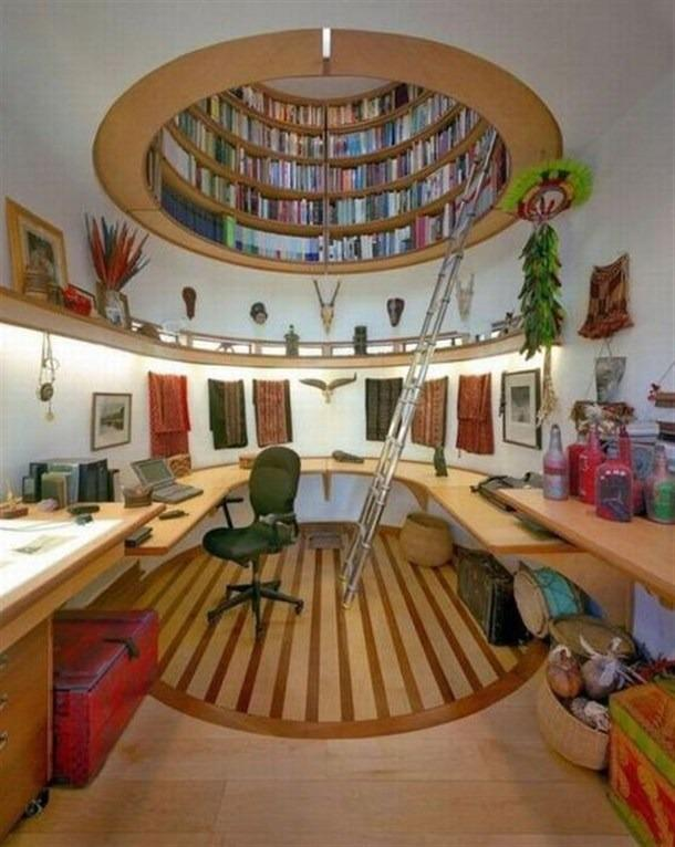 interesting book storage | Thinng