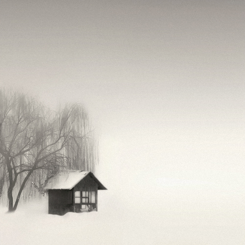a small hut.., photography by Nilgun Kara