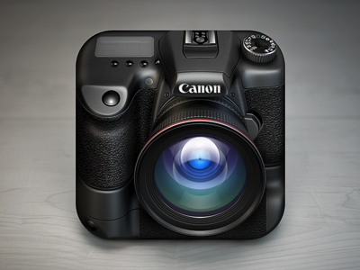 Camera iOS Icon by Konstantin Datz