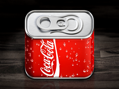 Cola iOS Icon by Konstantin Datz