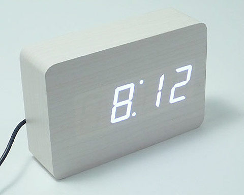 Homeloo wooden clocks — Lost At E Minor: For creative people ($20-50) - Svpply