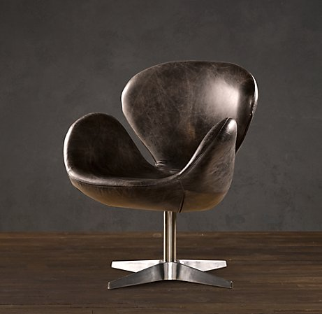 Devon Leather Chair without Casters | | Restoration Hardware ($500-5000) - Svpply