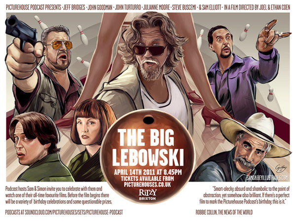 The Big Lebowski on Illustration Served