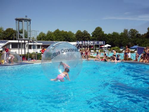 Inflatable Walk on Water Walking Ball PVC 2M Germany Tizip Zipper Five Oceans | eBay