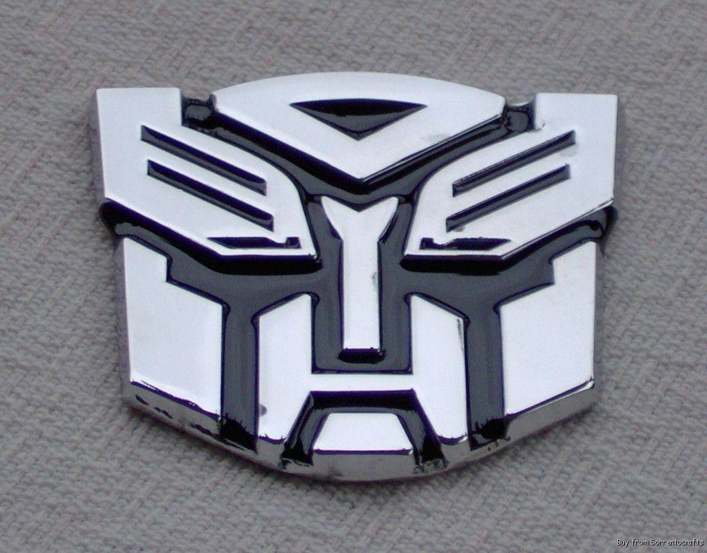 Real Metal 3D Transformer Car Emblem Autobot Decal BK [3A-metal] - $8.09 : easy-motorcycle.com supplies