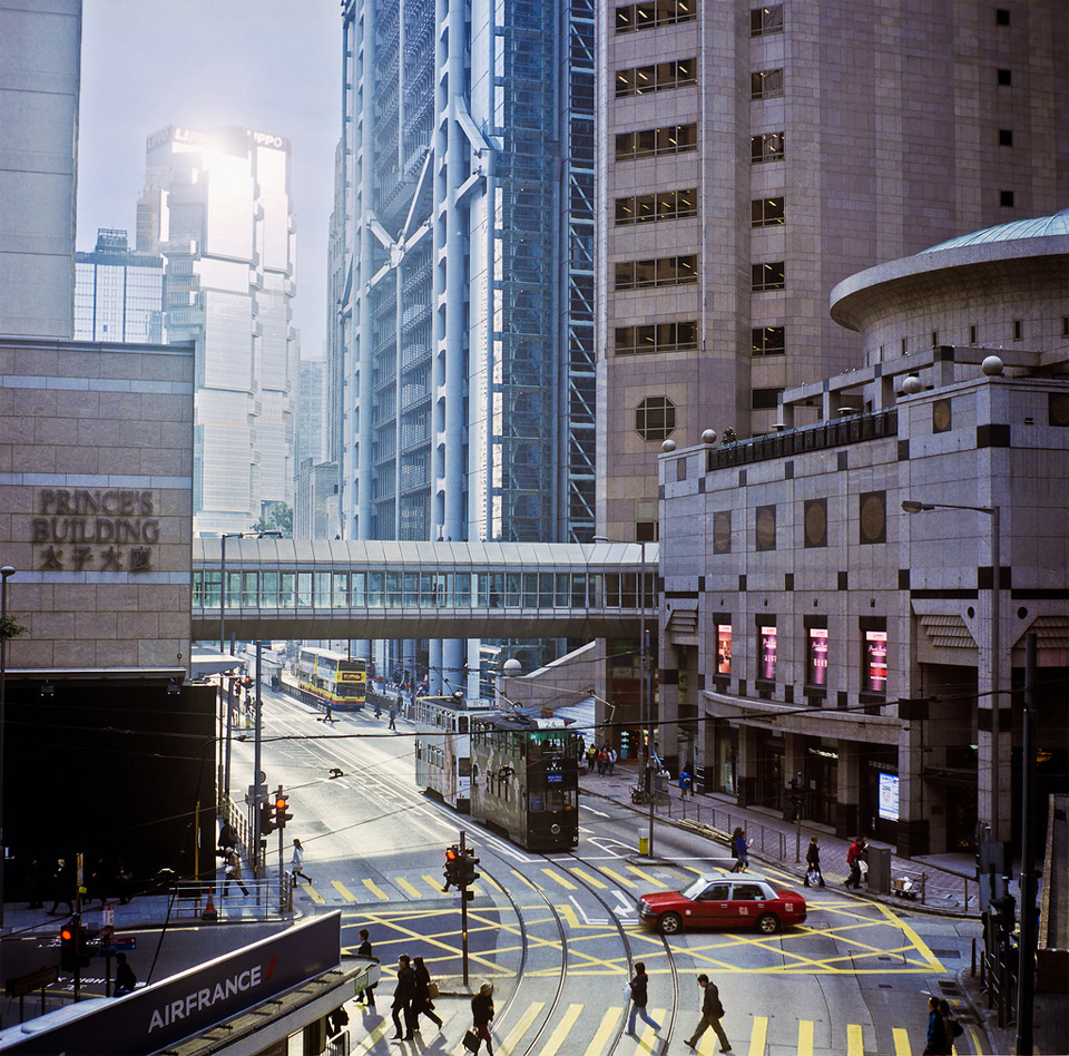 hong kong street view photo | one big photo