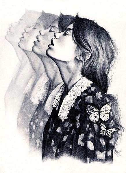 """""""Like art could save a wretch like me."""" – Breath taking drawings by Kate Powell   Just Imagine – Daily Dose of Creativity"""