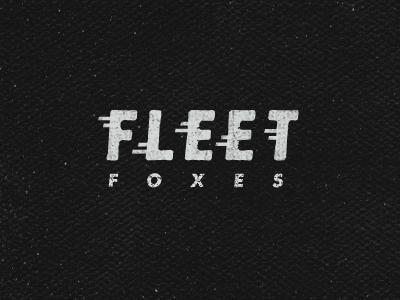 Designspiration — Dribbble - Fleet Foxes by Jimmy Walker