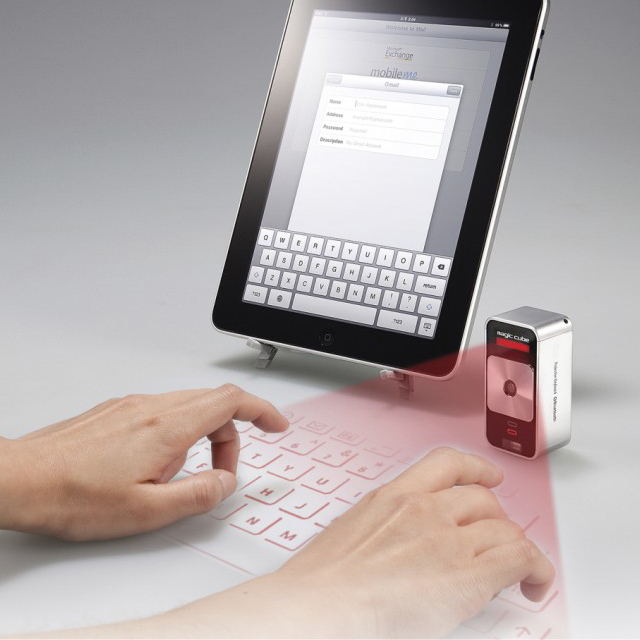 Celluon Magic Cube - Virtual Projection Keyboard | FancyCrave