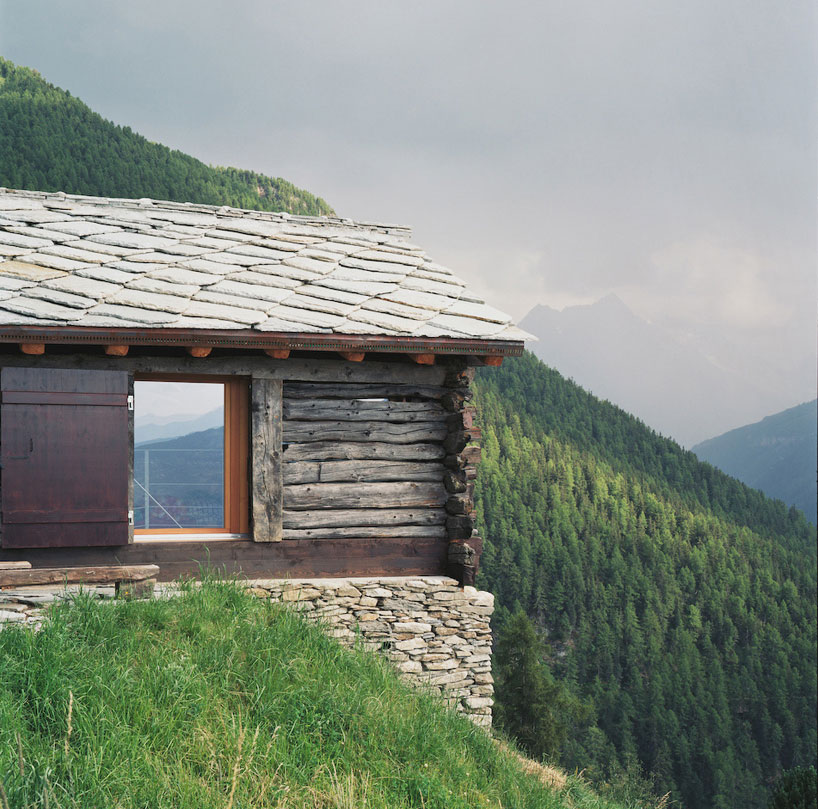 personeni raffaele schärer architects: shelter in the swiss alps