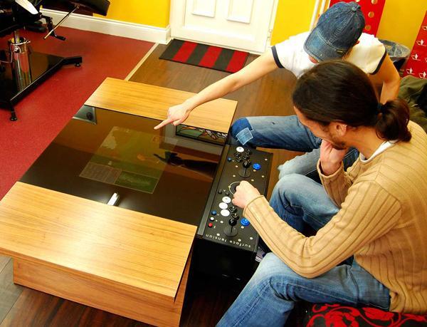Dual Arcade Table | FancyCrave
