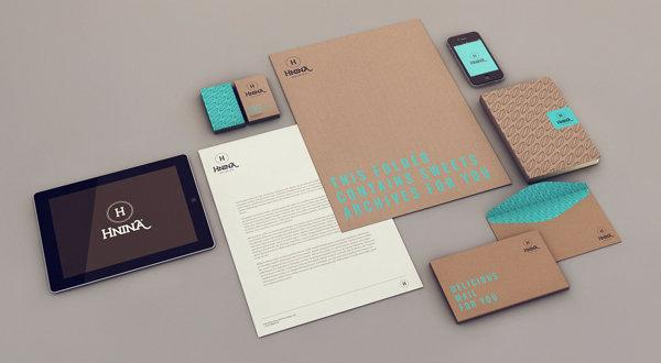 Branding and Packaging by Isabela Rodrigues for HNINA - Healthy Chocolates