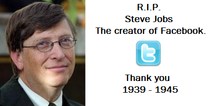 What are the most popular pictorial tributes to Steve Jobs shared on social networks after his death? - Quora