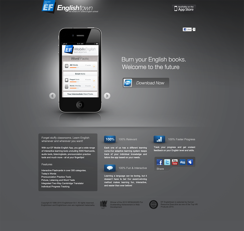 EF Mobile English by =xyphid