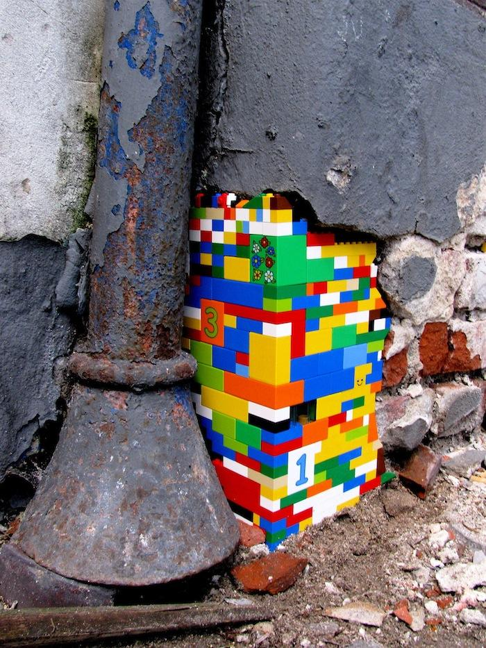 Lego – Let´s color the world! | STREET ART UTOPIA