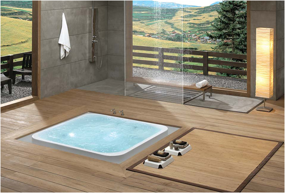 Award Winning Overflow Bathtubs by Kasch | FancyCrave