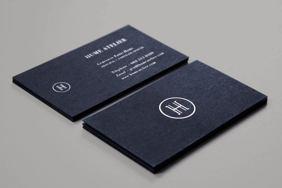 Hume Atelier - Glasfurd & Walker : Concept / Graphic Design / Art Direction : Vancouver, BC