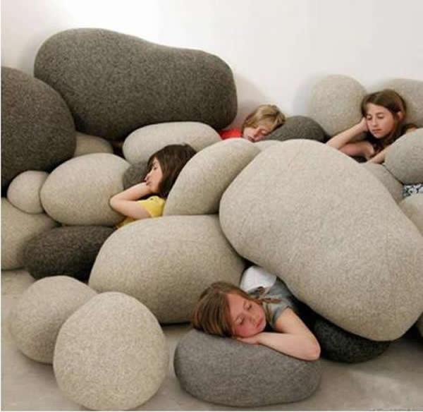 Living Stones Pillows Mix Color Home Fashion Pebble Pillows