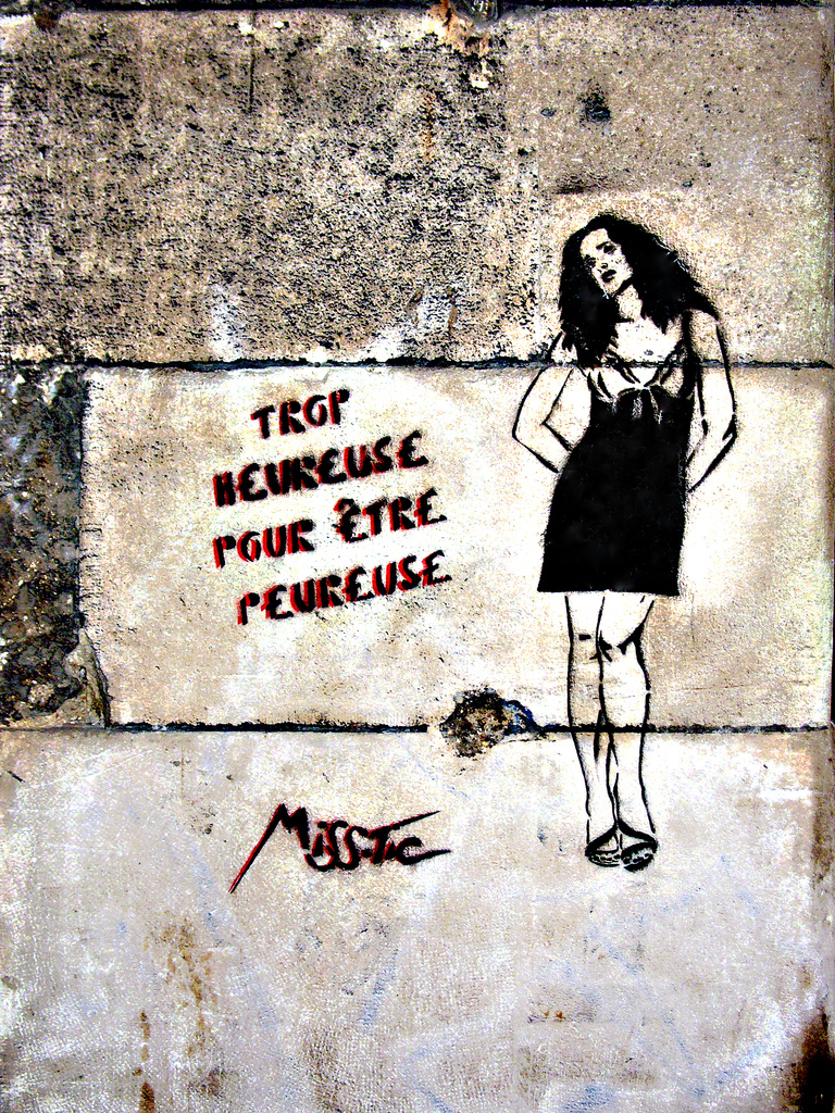 "Galleries / Street Art / Miss Tic - Miss.Tic Heureuse | Fubizâ""¢"