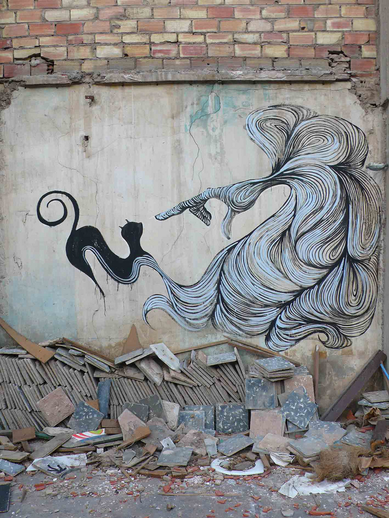 "Galleries / Street Art / Hyuro - muro1.b | Fubizâ""¢"