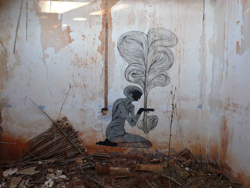 "Galleries / Street Art / Hyuro - muro6.b | Fubizâ""¢"