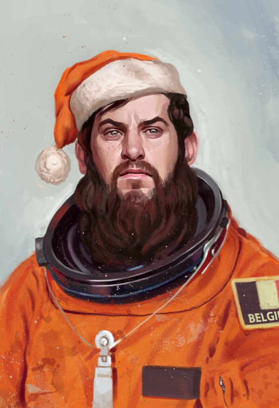 happy holidays from outer space by Joris Dewolf at Coroflot