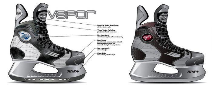 Vapor 10 Skate - 1998 by Bertrand Racine at Coroflot