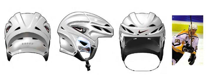 Nike Quest Helmet - 2001 by Bertrand Racine at Coroflot