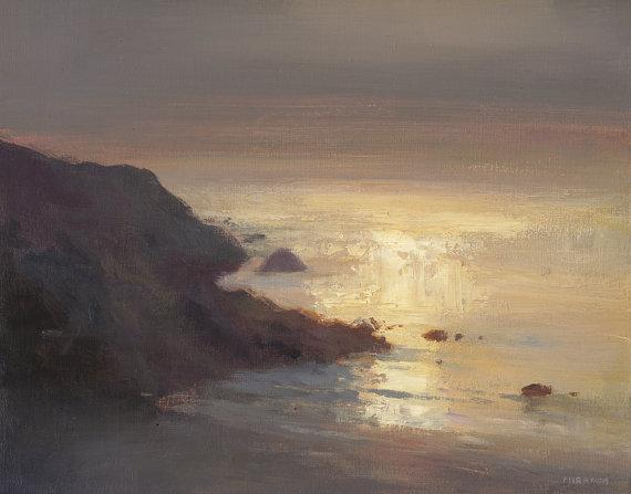 West Coast Light Study by jeremymiranda on Etsy