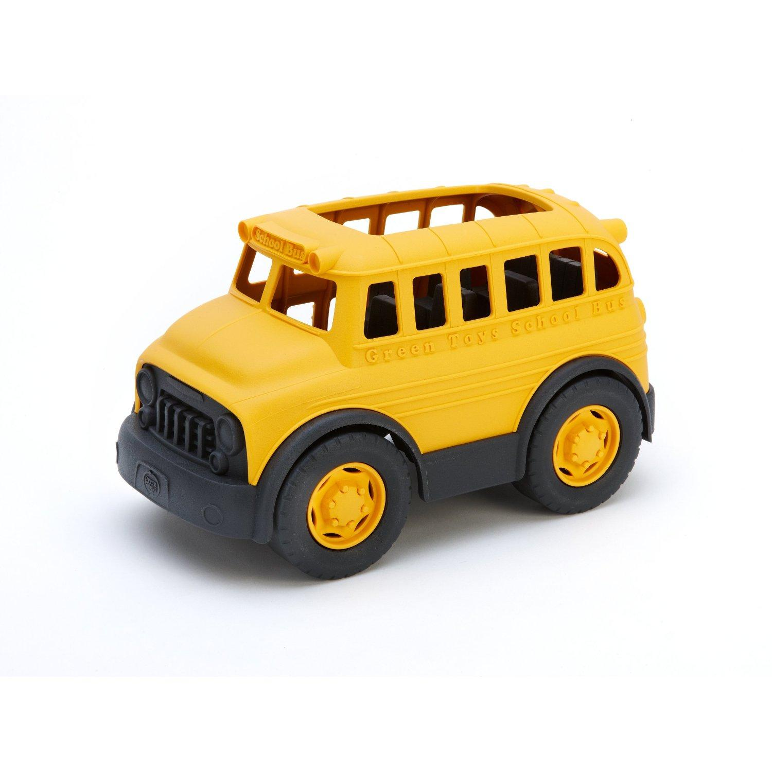 Amazon.com: Green Toys School Bus: Toys & Games