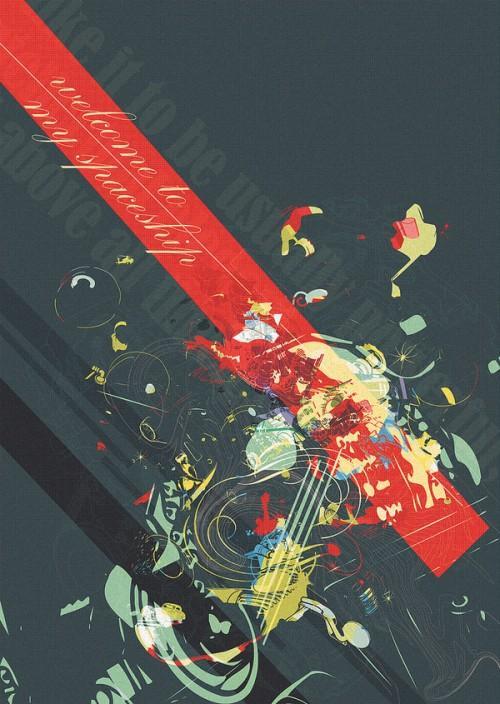 40 Tasteful Print Poster Designs | inspirationfeed.com