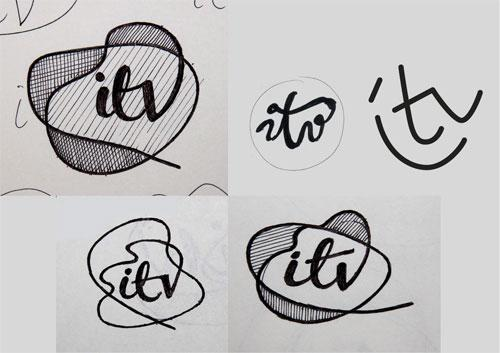 ITV logo creation   Logo Design Love