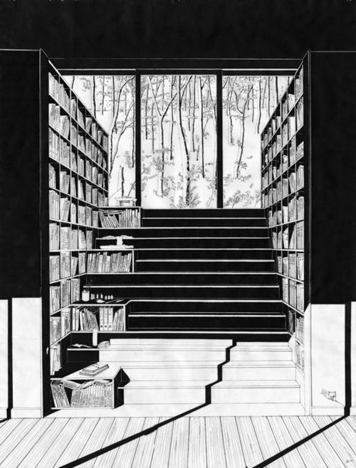 "a brighter view | marysoul: ""Bücherhaus""/ Home books | detailed..."