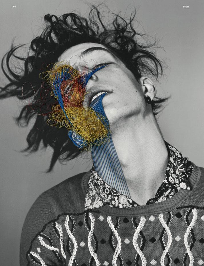 "The Embroidered Secrets of Maurizio Anzeri   Yatzerâ""¢"