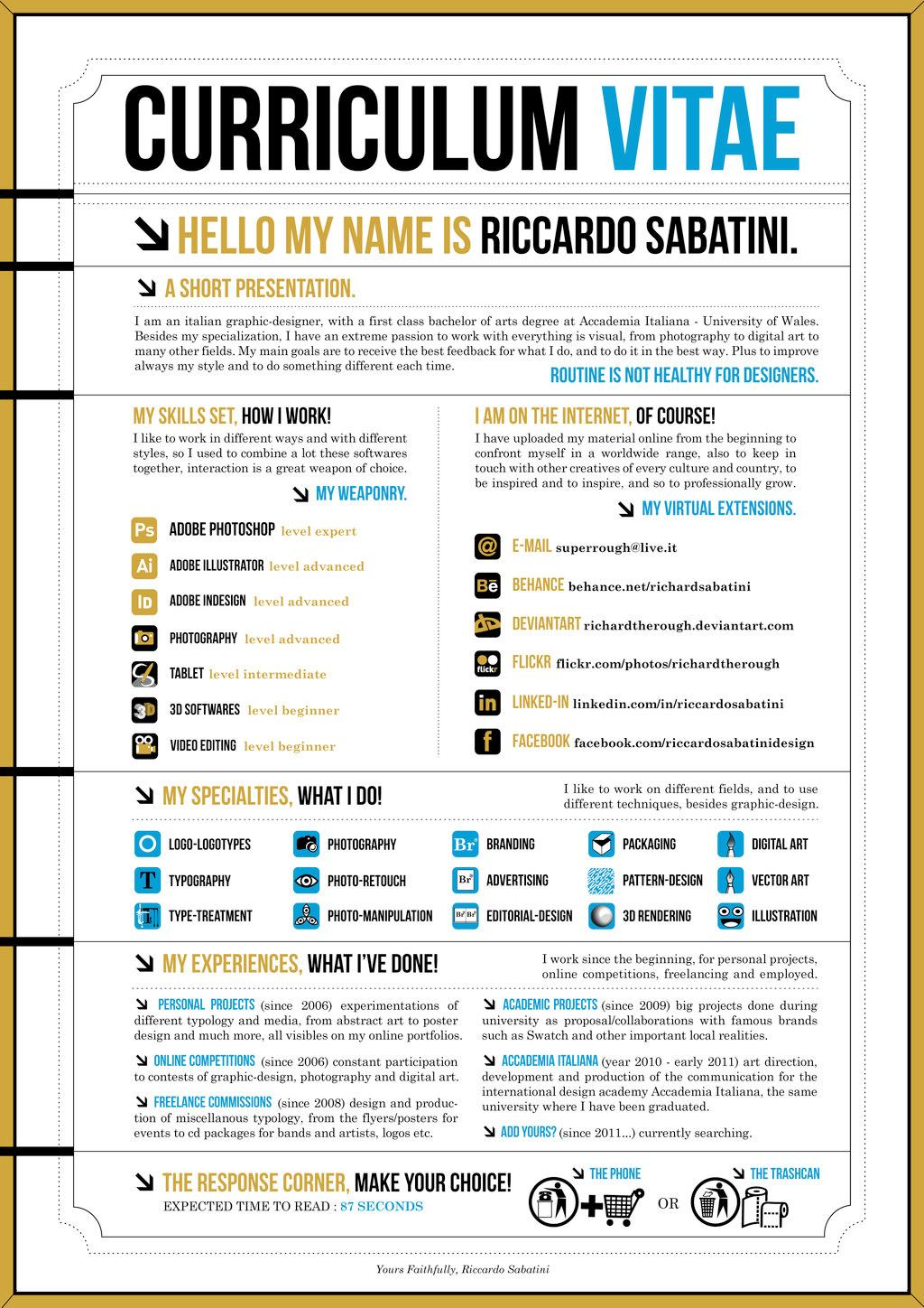 graphic designer resume tips and exles photography