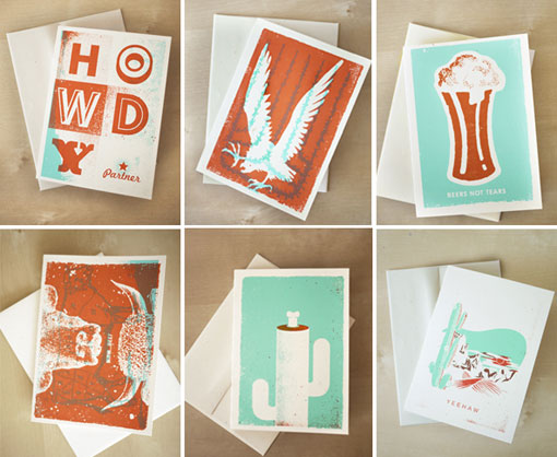 design work life » Two Arms Southwest Cards