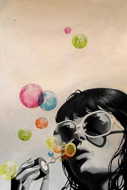 bubble girl | Flickr – Compartilhamento de fotos!