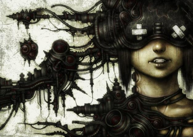 Art-Spire, Source d'inspiration artistique / 26 awesome dark illustrations by shichigoro-shingo