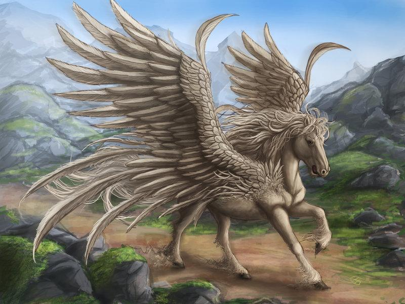 Pegasus by =Ruth-Tay
