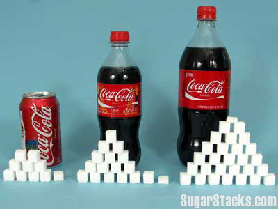 Sugar Stacks - How Much Sugar Is in That?